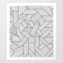 Infatuation #pattern #minimal Art Print