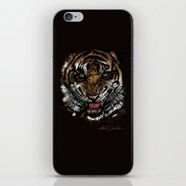 Tiger Face (Signature Design) iPhone Skin
