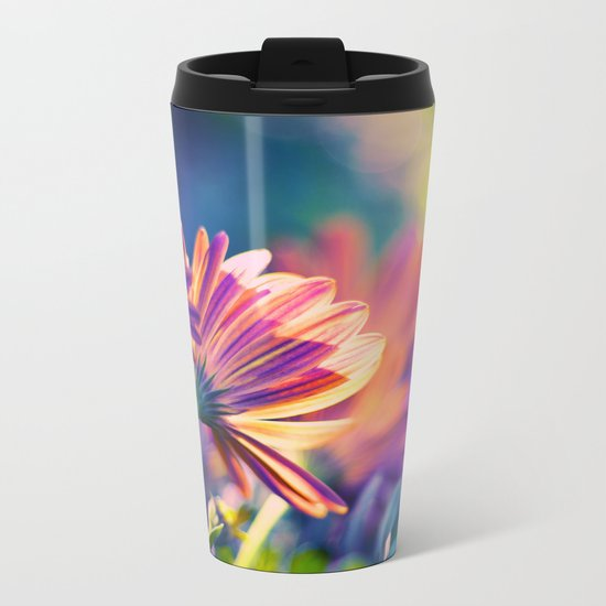 Colorful Days Metal Travel Mug