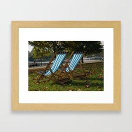 Hyde and Seek Framed Art Print