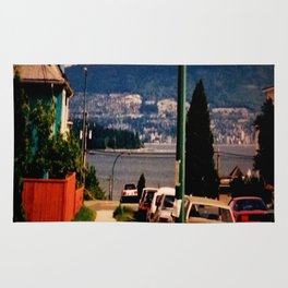 Hilltop view Rug