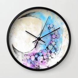 Luna Lunes Wall Clock