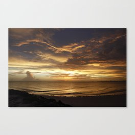 Spectacular Sunset Canvas Print