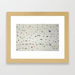 Bathing Beauties Framed Art Print