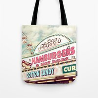 carnival Tote Bags featuring Carnival by Sylvia Cook Photography