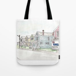 University of Dayton Student Neighborhood, Ghetto, UD Tote Bag