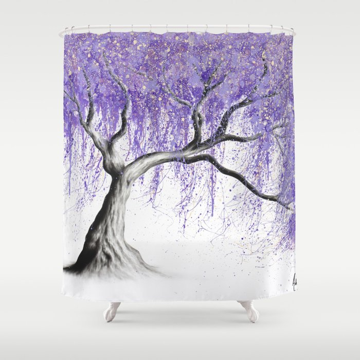Sumptuous Shade Tree Shower Curtain