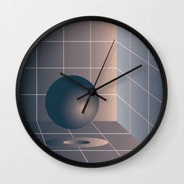 Shape study #6 - Memphis Collection Wall Clock