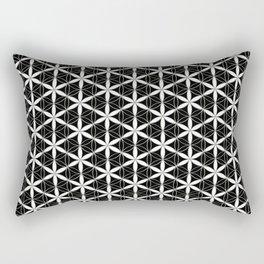 Flower of Life Pattern 3 Rectangular Pillow