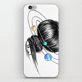 GIRLZ - SPACE iPhone Skin