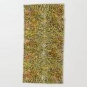 Yellow Leopard Print by serigraphonart