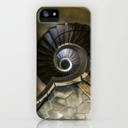 Circles and spirals iPhone Case