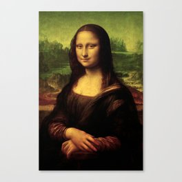 Mona Lisa Painting Canvas Print