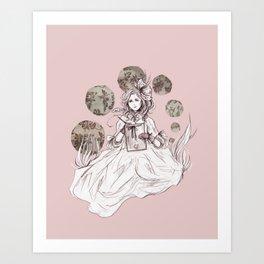 Cosette 2 Art Print