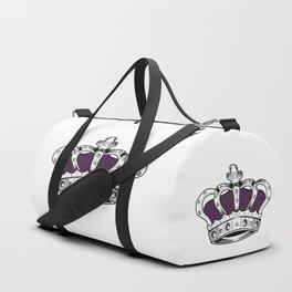 Crown - Purple Duffle Bag