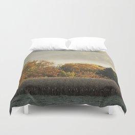 Autumn Cornfield Duvet Cover