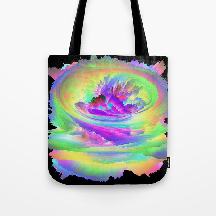 Color Storm Tote Bag