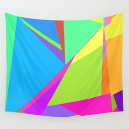 Polygon Summer Wall Tapestry