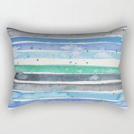Nautical stripes Rectangular Pillow