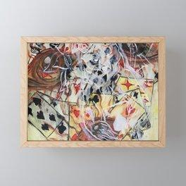 In the cards Framed Mini Art Print