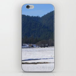 Beautiful wintry day in Hayfork, California.... iPhone Skin