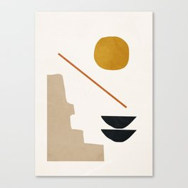 abstract minimal 6 Leinwanddruck