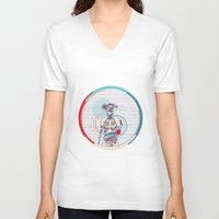 anatomy V-neck T-shirts featuring Anatomy by infloence