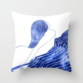 Nereid XXX Throw Pillow