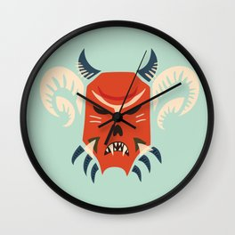 Kuker Evil Monster Mask Wall Clock