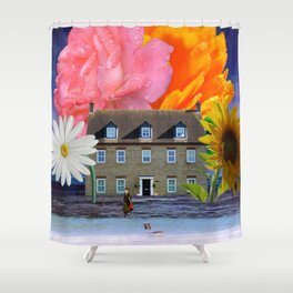 Beachside Property - My Work Here Is Done Shower Curtain