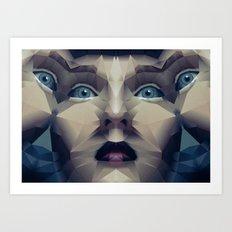 Facet_CD2 Art Print