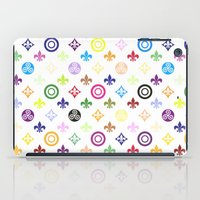 teen wolf iPad Cases featuring Teen Wolf symbols pattern by Indy