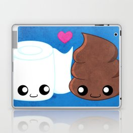 The Best of Friends - Toilet Paper and Poop Laptop & iPad Skin