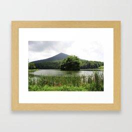 Peaks of Otter Framed Art Print