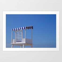Baywatch seat Art Print