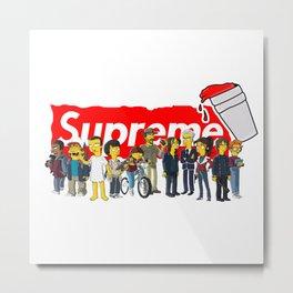 stranger thing supreme Metal Print