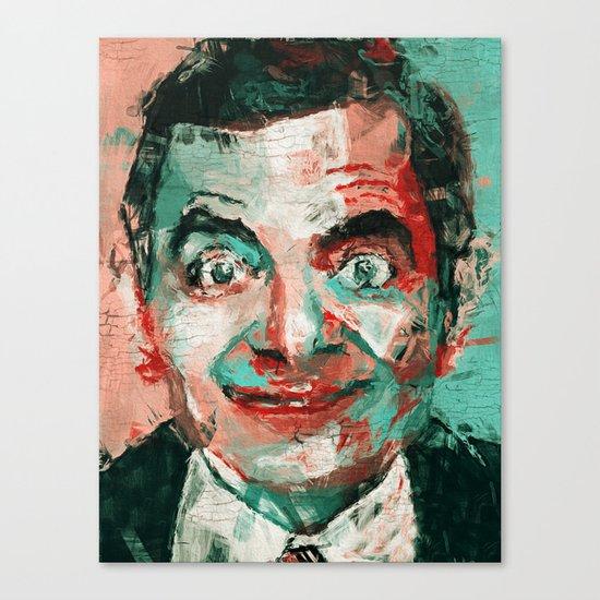 Mr Bean Canvas Print