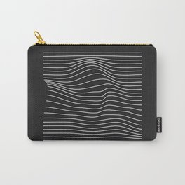 Minimal Square Warp Carry-All Pouch