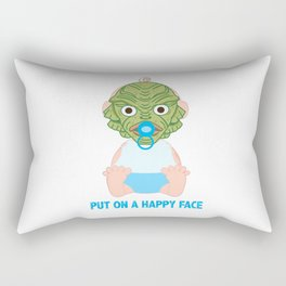 Put on a Happy Face Rectangular Pillow