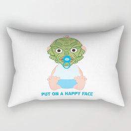 Put on a Happy Face Rectangular Pillow