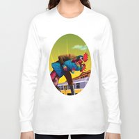 passion Long Sleeve T-shirts featuring Passion by Pierre-Paul Pariseau