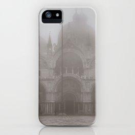 San Marcos Basilica at Piazza San Marcos, Venice, Italy iPhone Case
