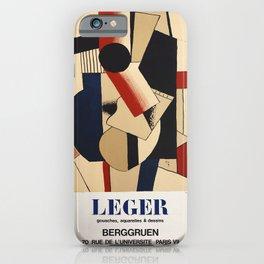 Fernand Léger -  Exhibition poster Berggruen 1979 iPhone Case