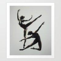 Dancers Art Print