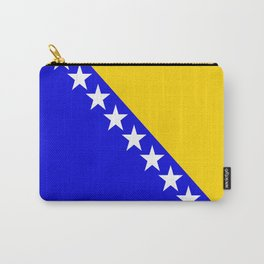 Bosnia and Herzegovina country flag Carry-All Pouch