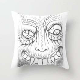 Space Snackss Throw Pillow