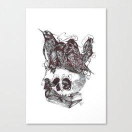 Vanité Canvas Print