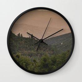 Southern California Wilderness Wall Clock