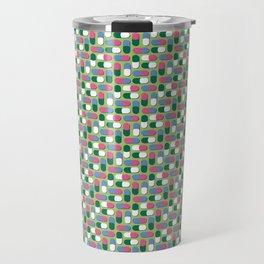 Colorful pills Travel Mug
