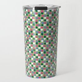 Colorful pills Travel Mug